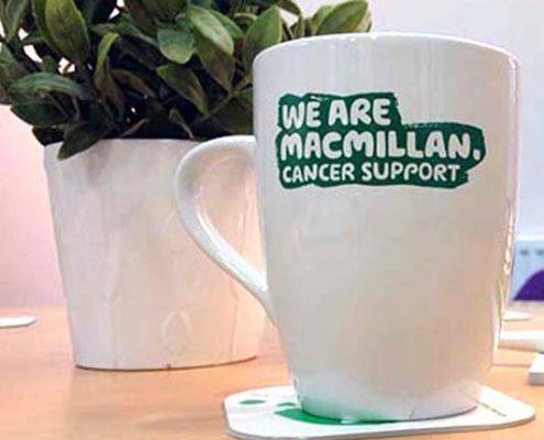 Macmillan cancer support mug