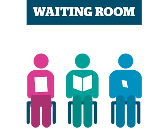 Doctor's waiting room