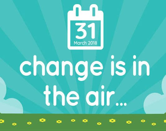 Change is in the Air graphic