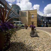 External view of Hexham General Hospital