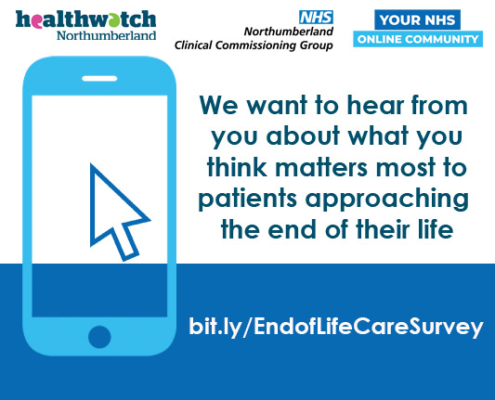 end of life care Northumberland