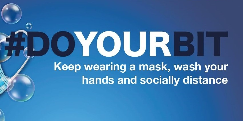 Keep wearing a mask in healthcare settings